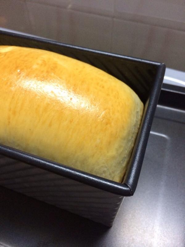 冷藏中种法高级奶香吐司的做法