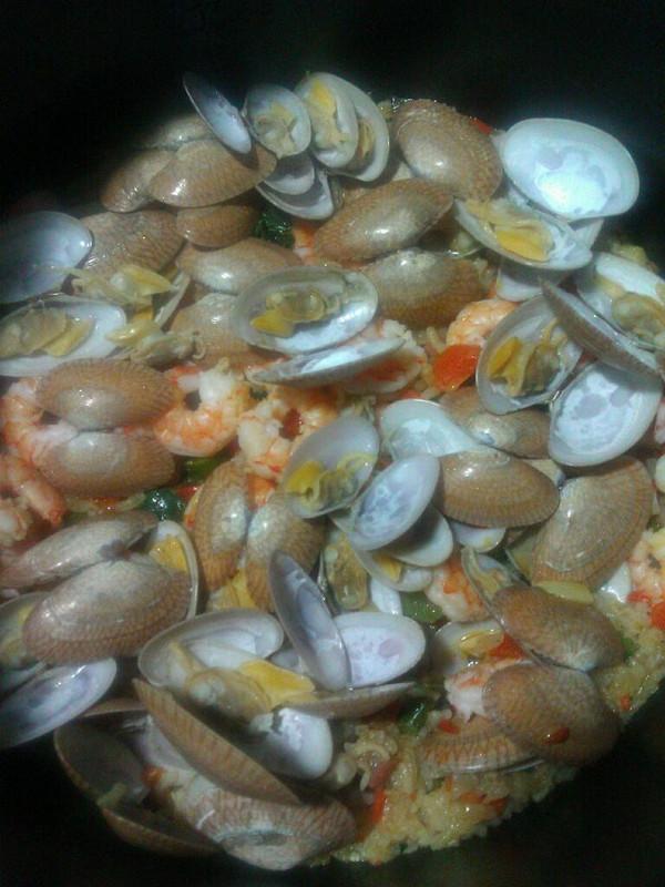 咖喱小海鲜饭的做法