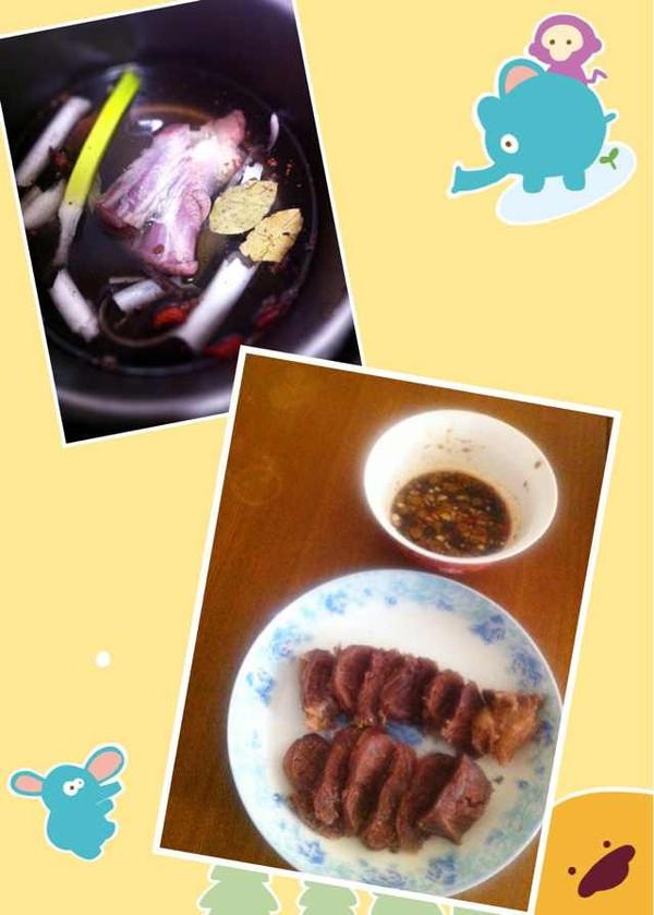 白卤牛肉的做法