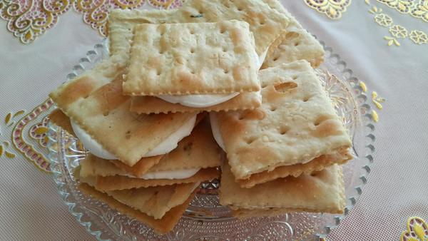 超级简单小甜点。烤棉花糖饼干。的做法