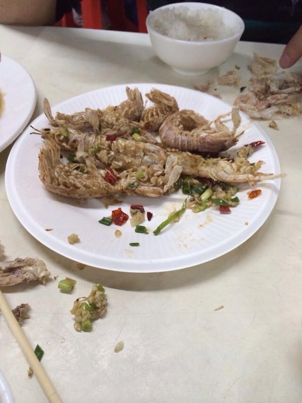 椒盐富贵虾的做法
