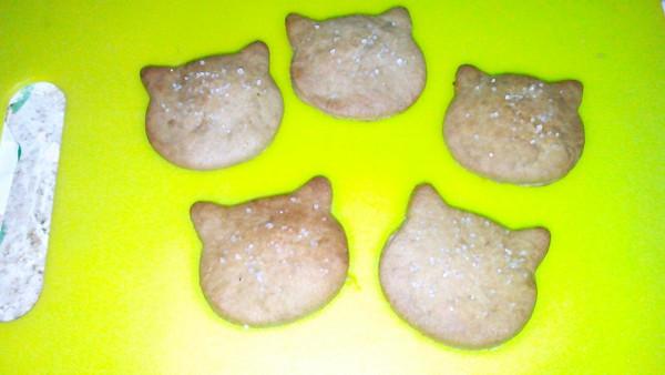 抹茶砂糖饼干的做法
