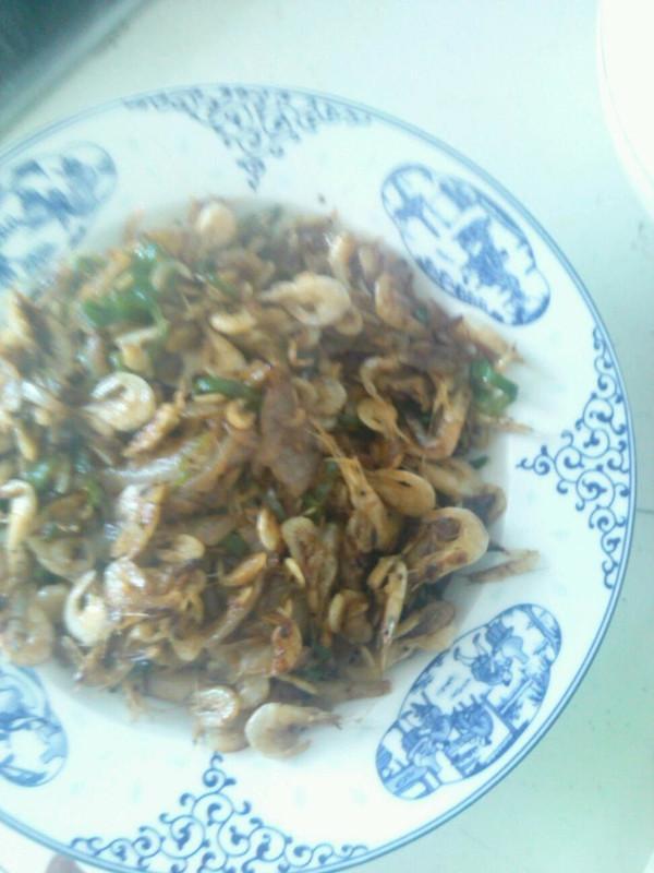 青椒炒虾皮的做法