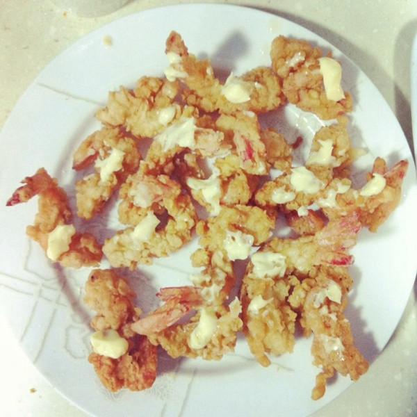 日式炸虾的做法