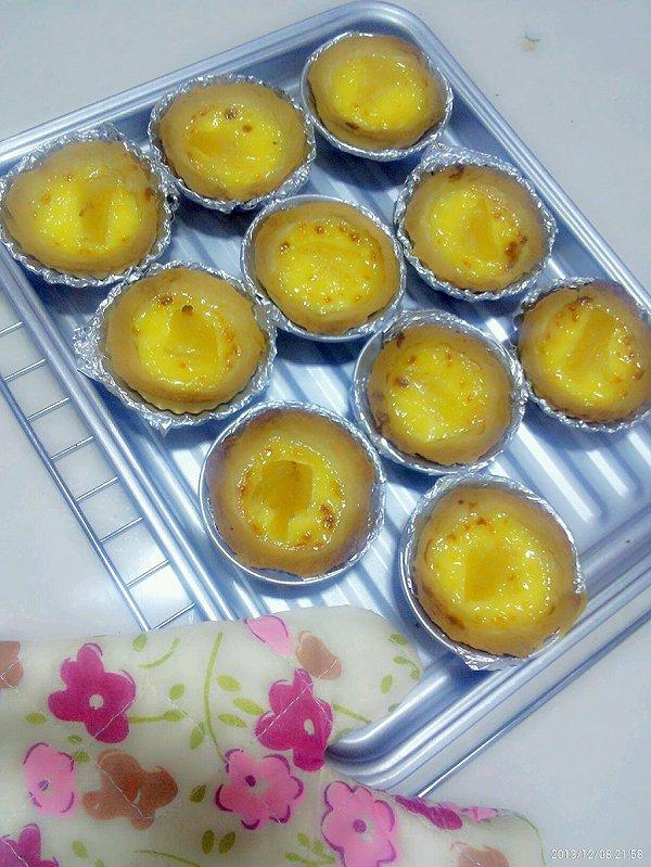 黄桃葡式蛋挞(小白版)的做法