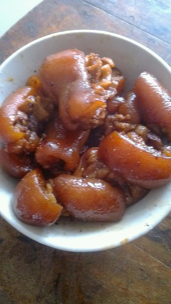 猪脚姜醋蛋的做法