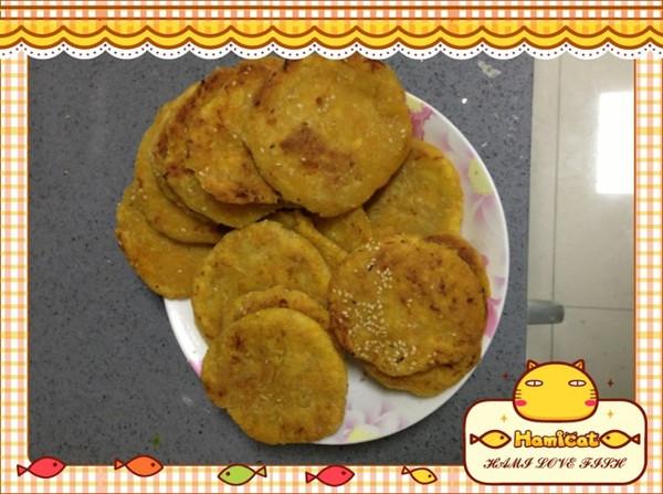 芝麻南瓜饼的做法