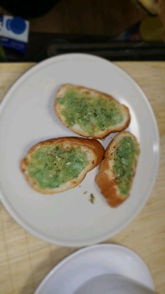 法式蒜香面包and香片的做法