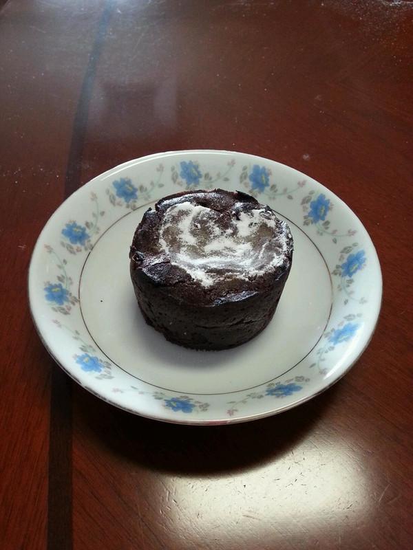 巧克力熔岩小蛋糕的做法