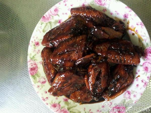 红烧鸡翅中的做法