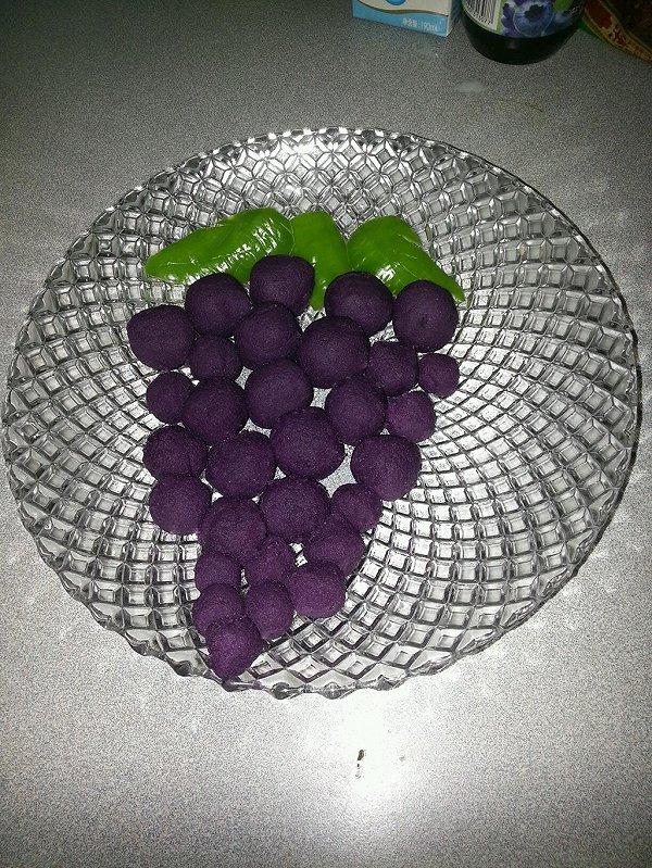 奶香蜂蜜紫薯球的做法
