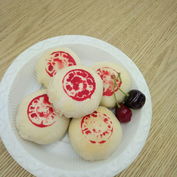 传统中式点心白皮酥图片