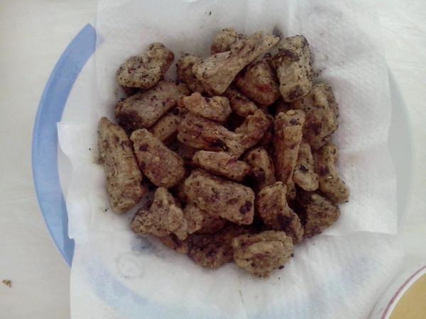 椒盐排条的做法