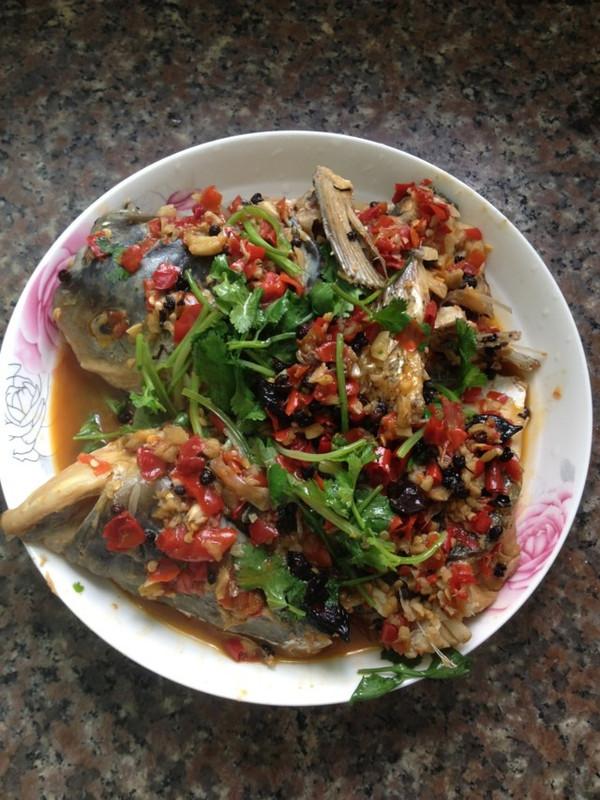 香辣焖鱼头的做法