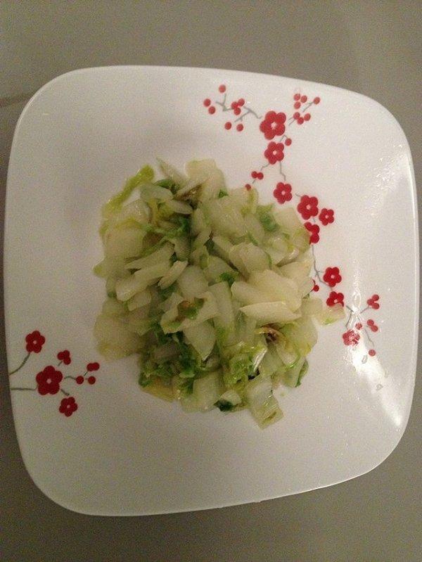 炒白菜的做法
