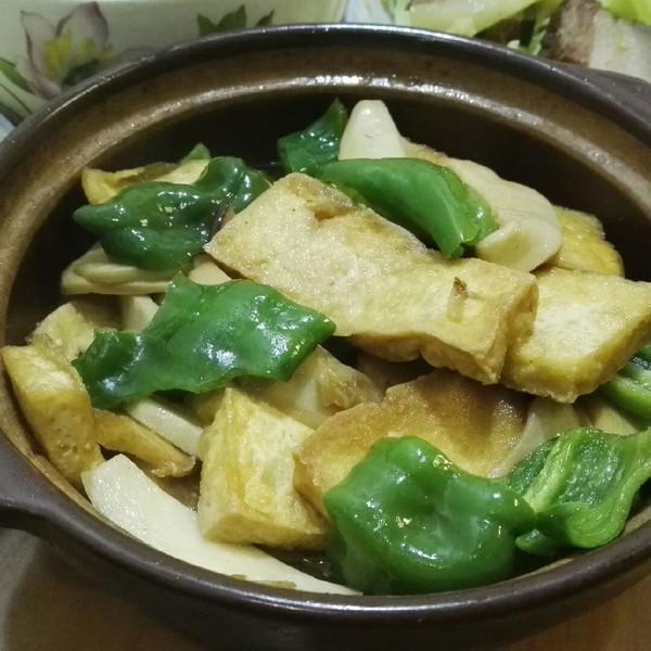 芋头冬瓜汤的菌菇煨老豆腐做法的学习成果照_豆果美食