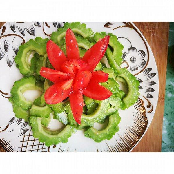 苦瓜西红柿的做法