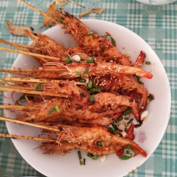 烧烤串串虾