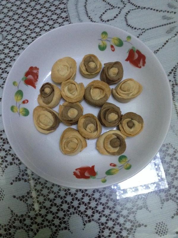 玫瑰花型饼干的做法