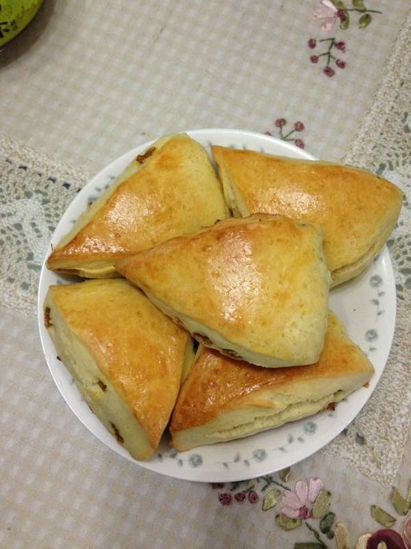 葡萄干司康…简单天然的早餐…的做法