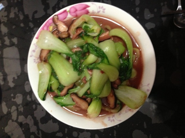 腐乳汁烧油菜的做法