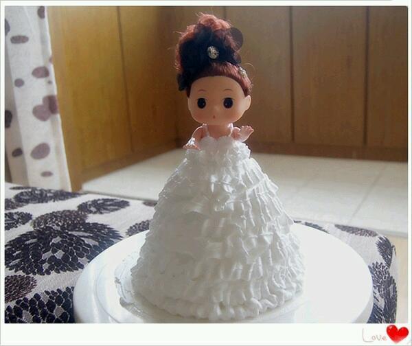 公主蛋糕的做法