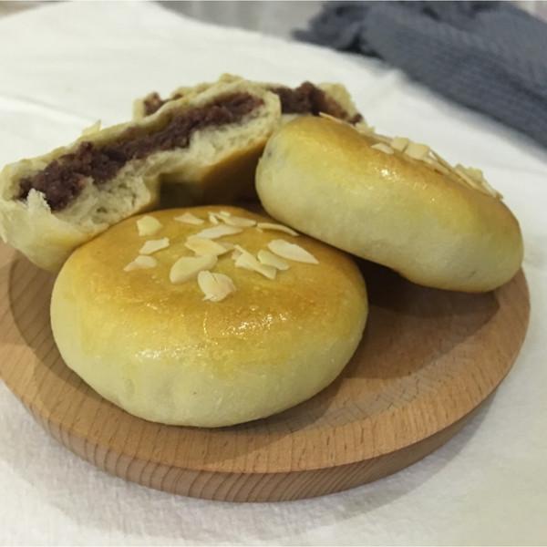 红豆小面包的做法