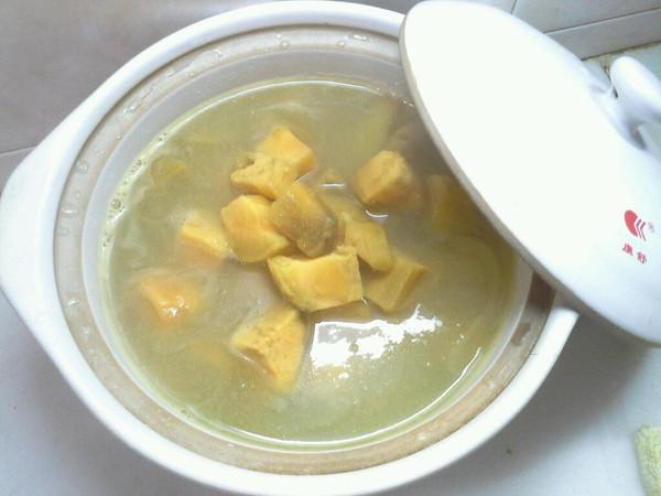 生姜番薯糖水的做法