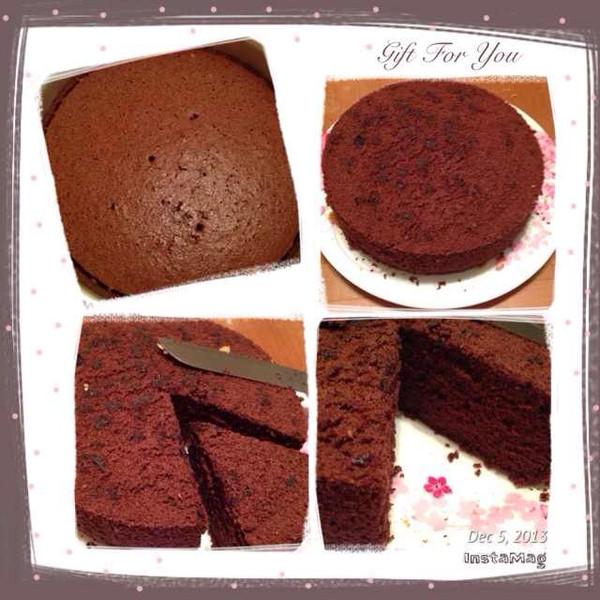 百做不厌的巧克力戚风 来自《欢迎进入grace西点红茶时间》的做法