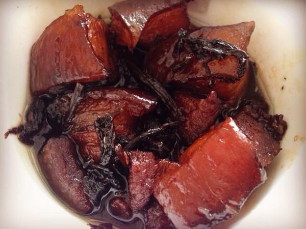 非传统非油炸版【梅干菜扣肉】的做法