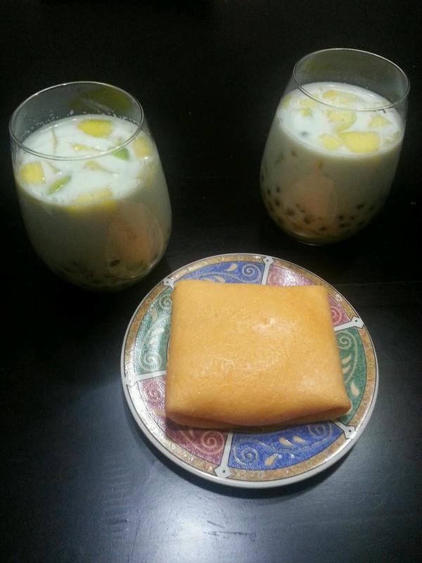 【芒果西米捞】煮出弹牙无白芯的西米的做法