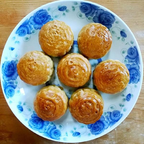 广式豆沙月饼的做法