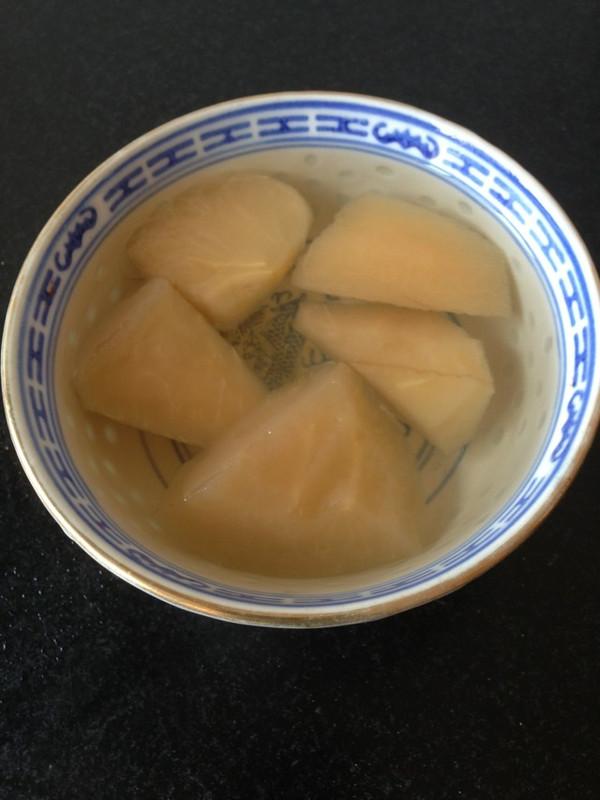 冰糖苹果汤的做法