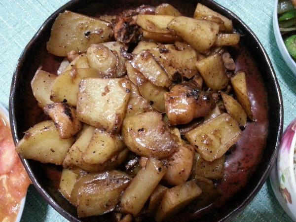 红烧土豆鸡块的做法