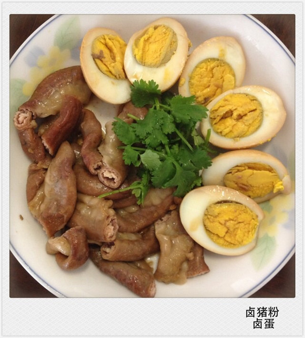 豆结、卤蛋红烧肉(电饭锅版) 的做法