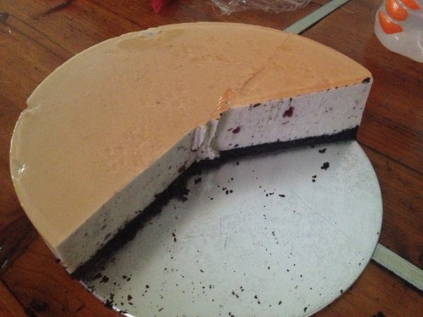 蓝莓芝士慕斯蛋糕的做法