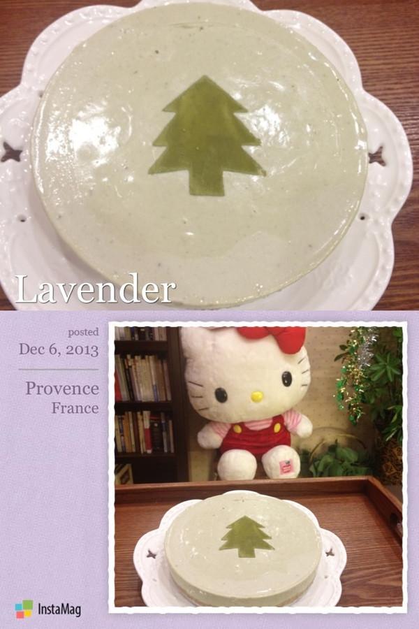 小清新【抹茶冻芝士】不用烤箱就能做的蛋糕的做法