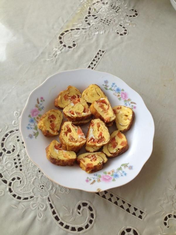 香葱厚蛋烧的做法