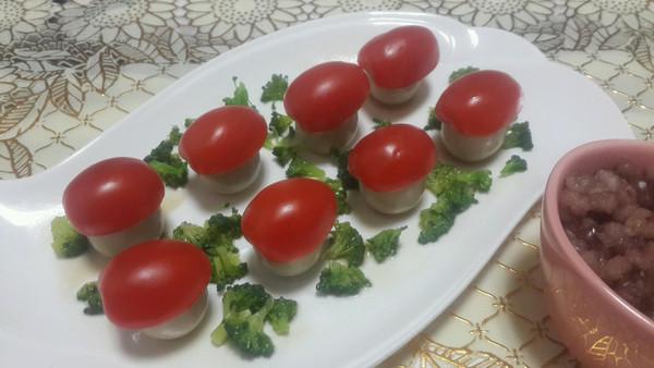 番茄小蘑菇的做法