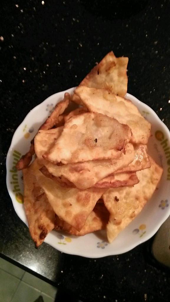 在家自己做印度抛饼的做法