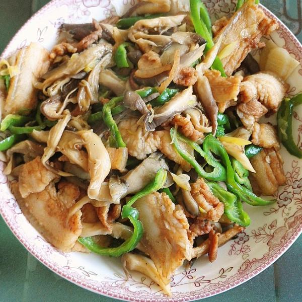 辣椒平菇炒肉吃生蚝拉一晚上肚子图片