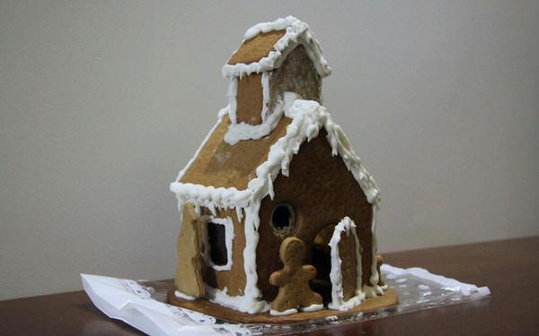 姜饼屋的做法