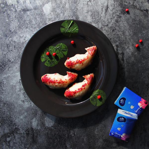#烘焙私房班#玫瑰鱼儿年糕的做法