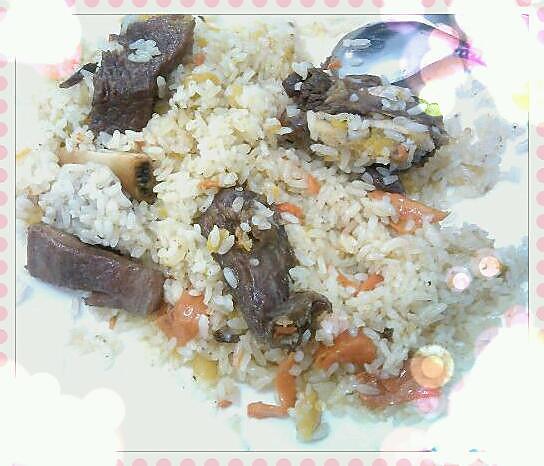 牛肉炒饭的做法