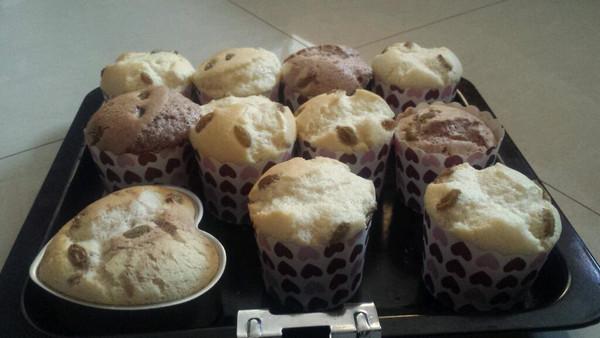 奶酪蔓越莓纸杯蛋糕的做法