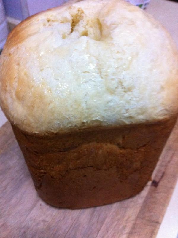 面包机做全蛋牛奶土司的做法