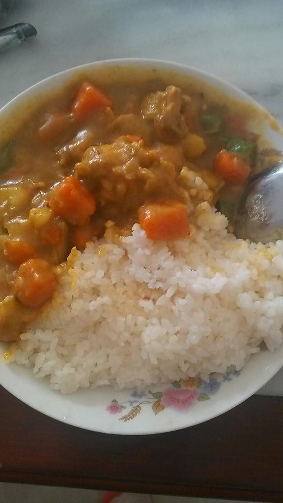 美味咖喱鸡饭的做法