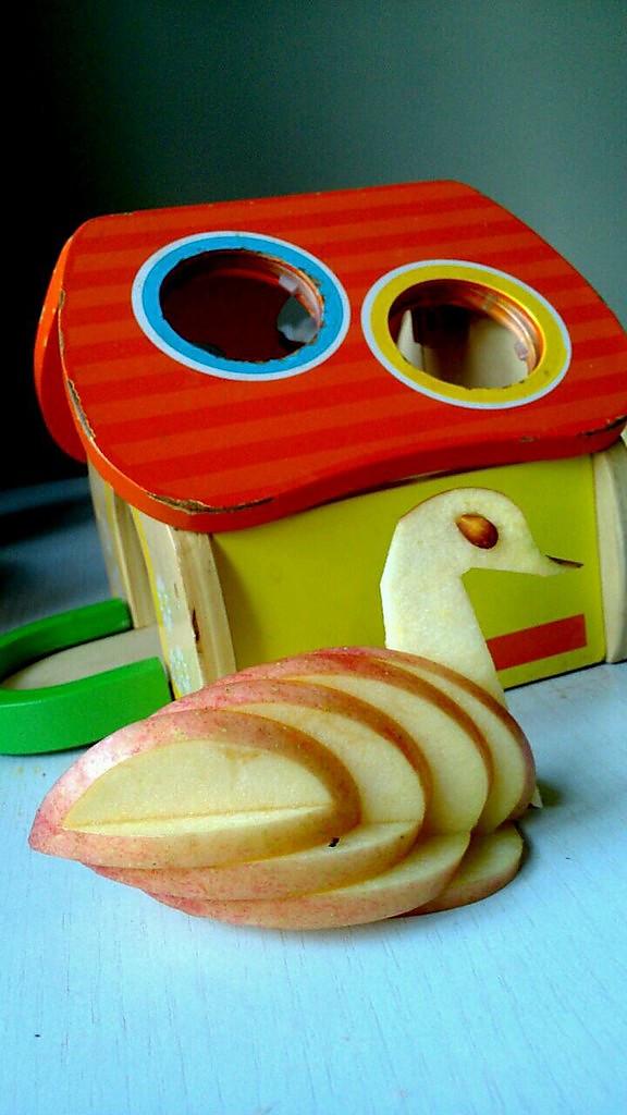 """""""苹果天鹅""""手把手教你拼盘装饰!的做法"""