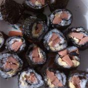 黑米寿司小小攻略的做法