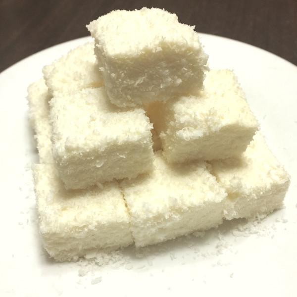 懒货做菜的85℃ 【椰丝牛奶小方】快手甜品做